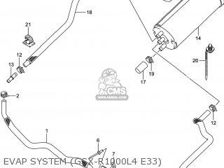 Suzuki Gsxr1000 2014 (l4) Usa (e03) parts list partsmanual