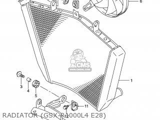 Suzuki GSXR1000 2014 (L4) USA (E03) parts lists and schematics