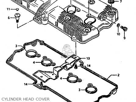 Suzuki GSXR1100 1986 (G) (E01 E02 4 6 15 16 17 18 21 22 24