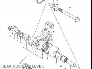 Suzuki GSXR1100 1986 (G) USA (E03) parts lists and schematics