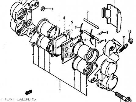 Suzuki GSXR1100 1987 (H) (E01 E02 4 6 15 16 17 18 21 22 24