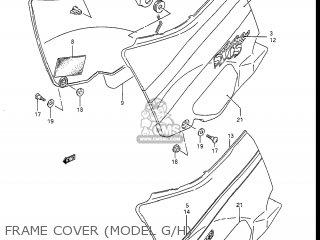 Suzuki Gsxr1100 1987 (h) Usa (e03) parts list partsmanual