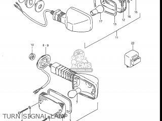 Suzuki Gsxr1100 1988 (j) Usa (e03) parts list partsmanual