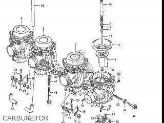 Suzuki GSXR1100 1989 (K) USA (E03) parts lists and schematics