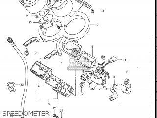 Suzuki Gsxr1100 1989 (k) Usa (e03) parts list partsmanual