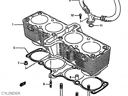 Suzuki GSXR1100 1990 (L) (E01 E02 E04 15 16 17 18 21 22 24