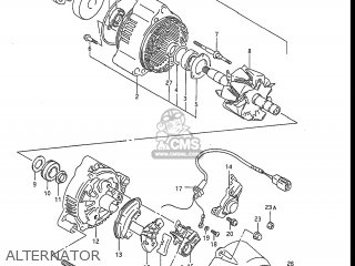 Suzuki Gsxr1100 1990 (l) Usa (e03) parts list partsmanual