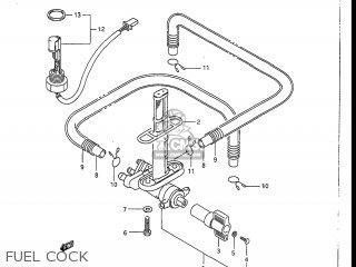 Suzuki GSXR1100 1990 (L) USA (E03) parts lists and schematics