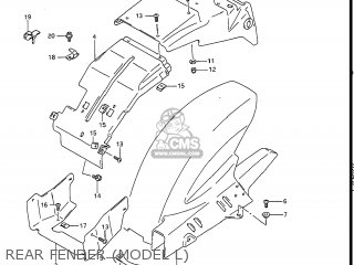 Suzuki GSXR1100 1990 (L) USA (E03) parts lists and schematics