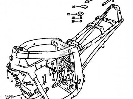 Suzuki Gsxr1100 1991 (m) (e01 E02 E04 15 16 17 18 21 22 24