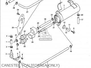 Suzuki GSXR1100 1992 (N) USA (E03) parts lists and schematics