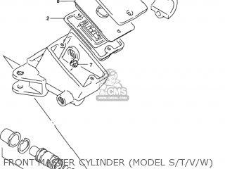 Suzuki Gsxr1100w 1993 (p) Usa (e03) parts list partsmanual