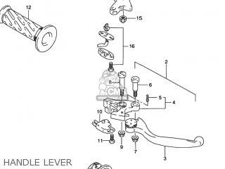 Suzuki GSXR1100W 1993 (P) USA (E03) parts lists and schematics