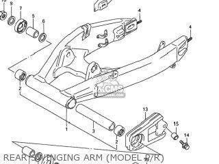 Suzuki GSXR1100W 1994 (R) USA (E03) parts lists and schematics