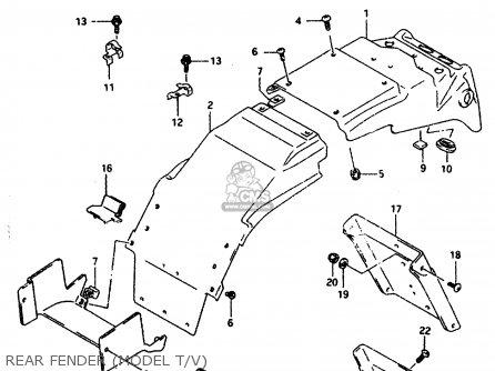 Suzuki Gsxr1100w 1995 (s) (e02 E04 E18 E22 E24 E25 E34 E37