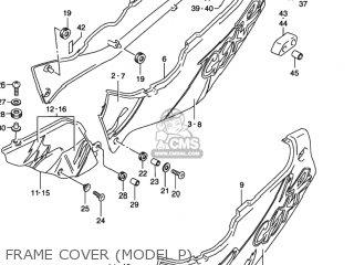 Suzuki Gsxr1100w 1995 (s) Usa (e03) parts list partsmanual