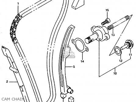 Suzuki Gsxr1100wsk 1996 (t) Brazil (e37) parts list