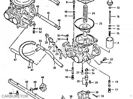 Suzuki Gsxr400 1987 (h) General Export (e01) parts list