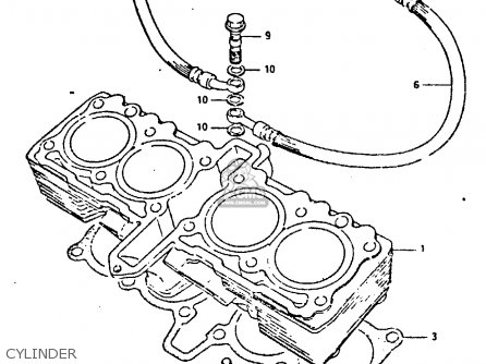 Suzuki GSXR400 1987 (H) GENERAL EXPORT (E01) parts lists