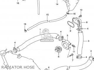 Suzuki GSXR600 1997 (V) USA (E03) parts lists and schematics