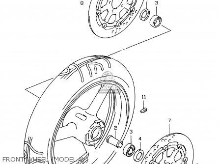 Suzuki GSXR600 1998 (W) (E02 E04 E18 E22 E24 E25 E34 E39