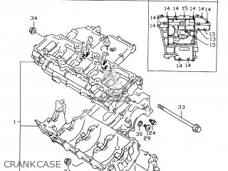 Suzuki GSXR600 1999 (X) parts lists and schematics