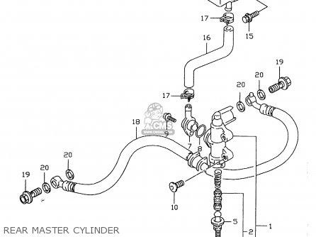 Suzuki GSXR600 1999 (X) parts lists and schematics