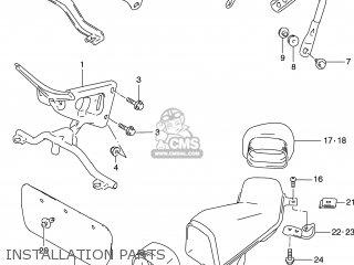 Suzuki GSXR600 1999 (X) USA (E03) parts lists and schematics
