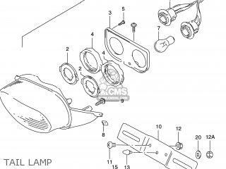 Suzuki GSXR600 1999 (X) USA (E03) parts lists and schematics