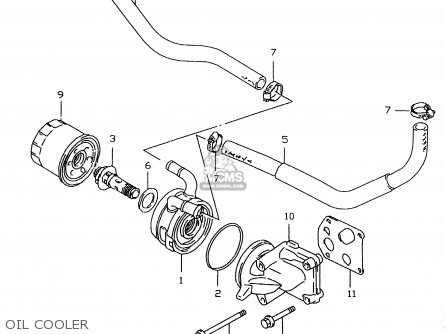 Suzuki GSXR600 2000 (Y) parts lists and schematics