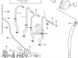 Suzuki Gsxr600 2000 (y) Usa (e03) parts list partsmanual