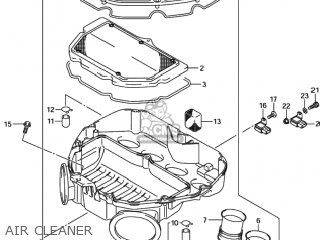Suzuki Gsxr600 2001 (k1) Usa (e03) parts list partsmanual