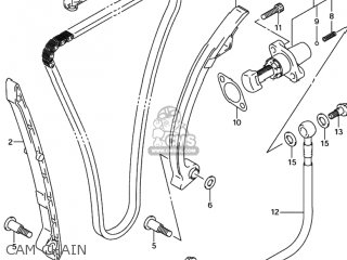 Suzuki GSXR600 2001 (K1) USA (E03) parts lists and schematics
