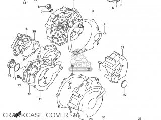 Suzuki GSXR600 2004 (K4) USA (E03) parts lists and schematics