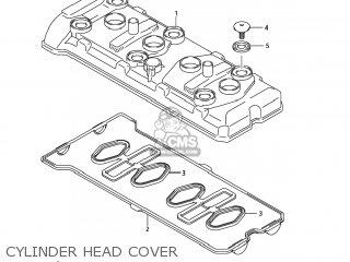 Suzuki GSXR600 2006 (K6) USA (E03) parts lists and schematics