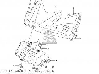 Suzuki GSXR600 2008 (K8) USA (E03) parts lists and schematics