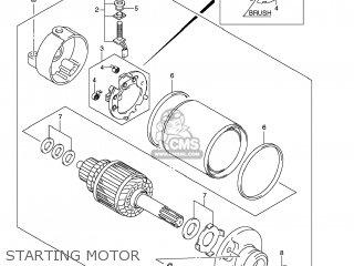 Suzuki GSXR600 2009 (K9) USA (E03) parts lists and schematics
