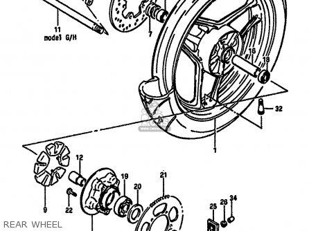 Suzuki GSXR750 1985 (F) (E01 2 4 6 15 16 17 18 21 22 24 25