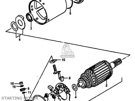 Suzuki GSXR750 1986 (G) (E01 E02 E04 E15 16 17 18 21 22 24