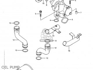Suzuki GSXR750 1986 (G) USA (E03) parts lists and schematics
