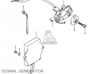 Suzuki GSXR750 1987 (H) USA (E03) parts lists and schematics