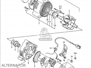 Suzuki Gsxr750 1988 (j) Usa (e03) parts list partsmanual