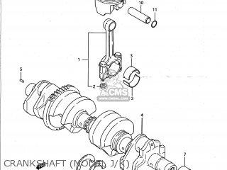 Suzuki Gsxr750 1988 (j) Usa (e03) parts list partsmanual