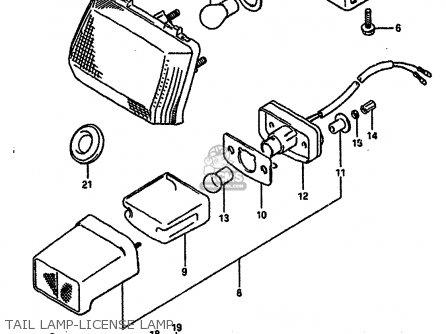 Suzuki GSXR750 1989 (K) (E01 E02 E15 E16 E17 E18 E21 22 24