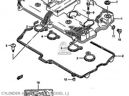 Suzuki GSXR750 1990 (L) (E01 E02 E04 E15 16 17 18 21 22 24