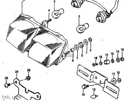 Suzuki GSXR750 1991 (M) (E01 E02 E04 E15 16 17 18 21 22 24 25 34 39 53) parts lists and schematics