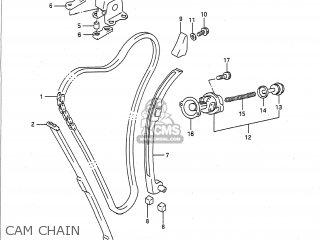 Suzuki Gsxr750 1991 (m) Usa (e03) parts list partsmanual
