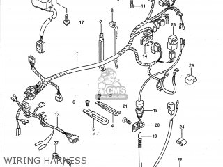 Suzuki GSXR750 1991 (M) USA (E03) parts lists and schematics