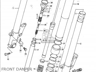 Suzuki GSXR750 1992 (N) USA (E03) parts lists and schematics
