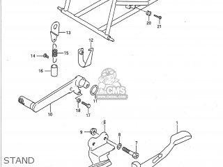 Suzuki GSXR750 1992 (N) USA (E03) parts lists and schematics